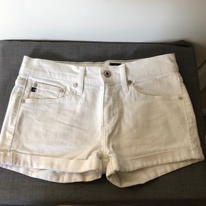 Adriano Goldschmied White Jean shorts